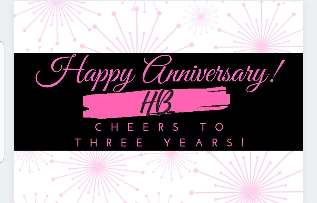 IT'S OUR THREE-YEAR ANNIVERSARY!!